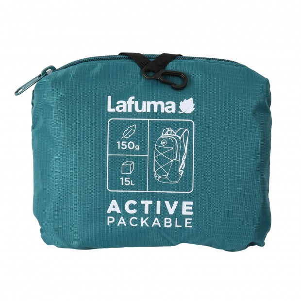 Backpack - packable - GREEN ACTIVE PACKABLE Lafuma 3