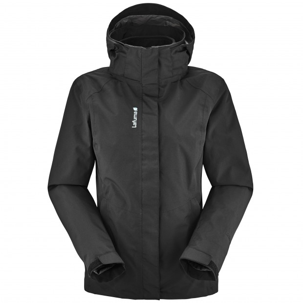 LD  JAIPUR GORE-TEX ZIP IN-JACKET Black Lafuma