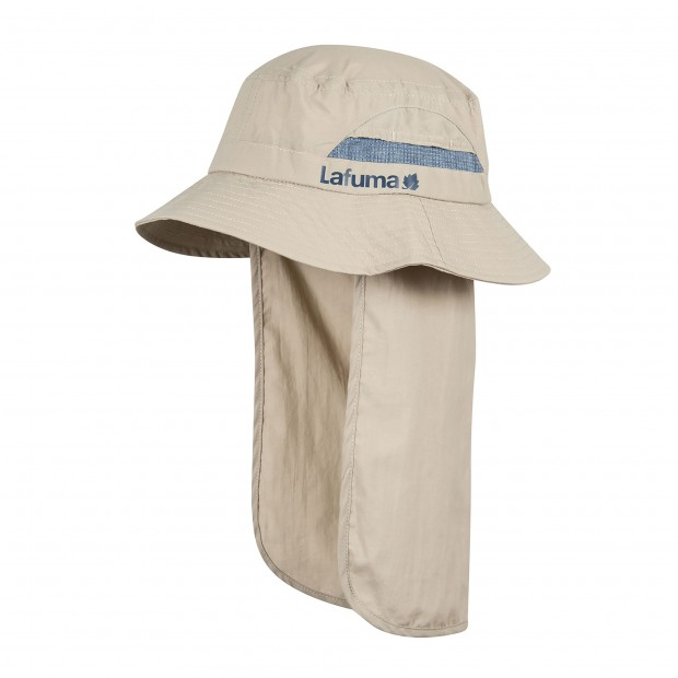 Men hiking Headwear SUN HAT Beige Lafuma 2