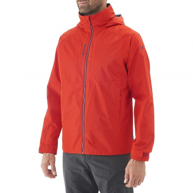 Waterproof jacket - men WAY JKT M Red Lafuma 2