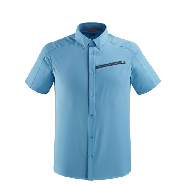Short sleeves shirt - Men SKIM SHIRT Blue Lafuma