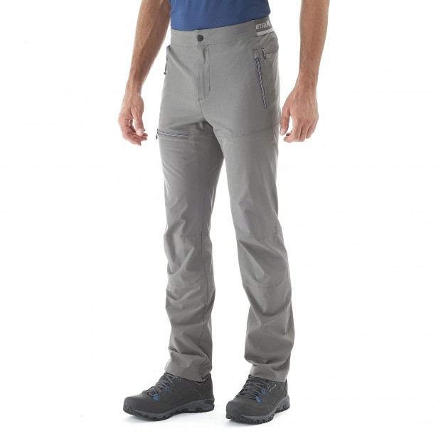 Light pant - Men SKIM PANTS Grey Lafuma 2