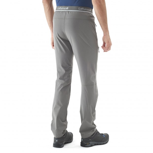 Light pant - Men SKIM PANTS Grey Lafuma 3