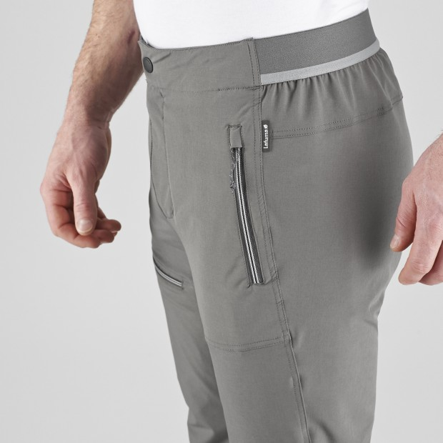 Light pant - Men SKIM PANTS Grey Lafuma 5