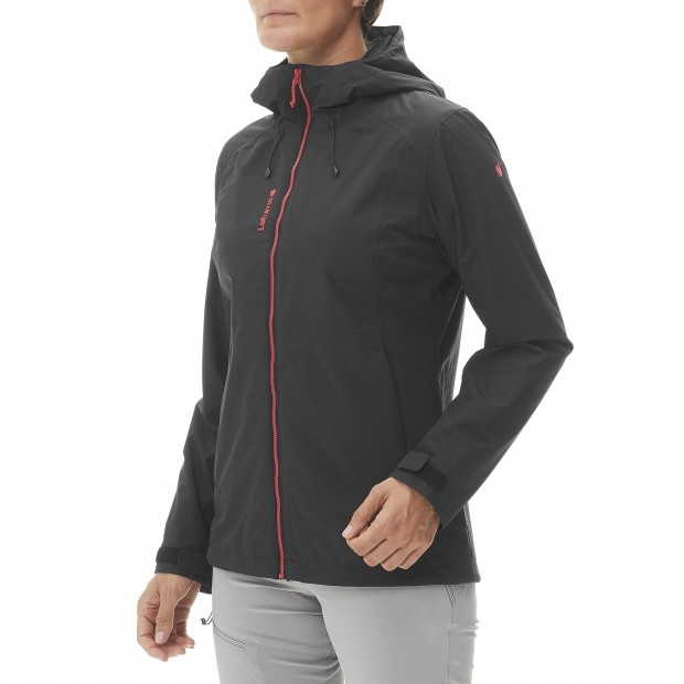 Mix and match jacket - women LD SKIM ZIP-IN JKT Black Lafuma 4