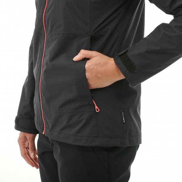 Mix and match jacket - women LD SKIM ZIP-IN JKT Black Lafuma 3