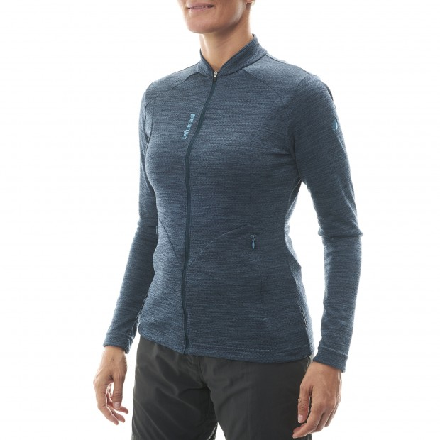 Lightweight fleecejacket - Women SKIM F-ZIP W Grey Lafuma 2