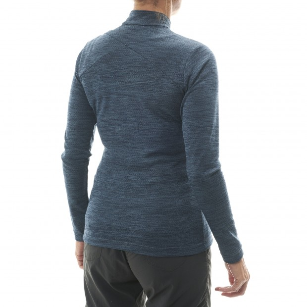 Lightweight fleecejacket - Women SKIM F-ZIP W Grey Lafuma 3