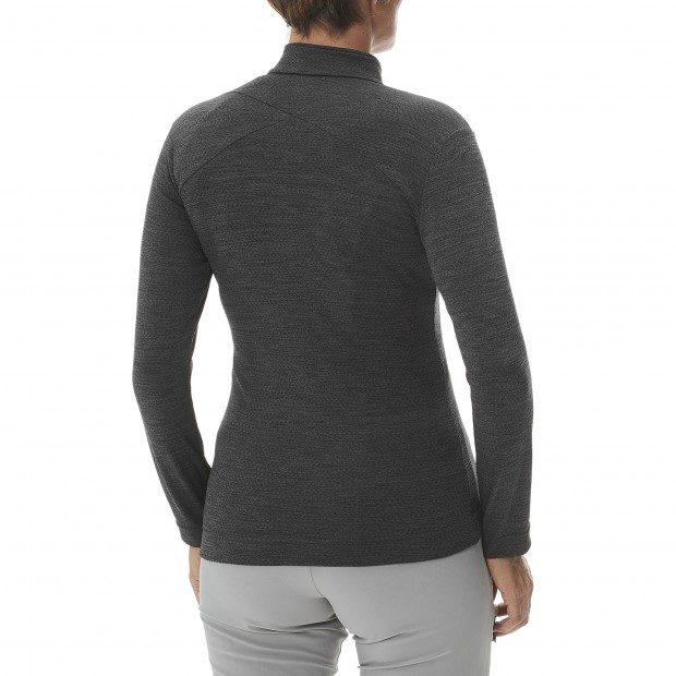 Fleecejacket - Women SKIM F-ZIP W GREY Lafuma 3