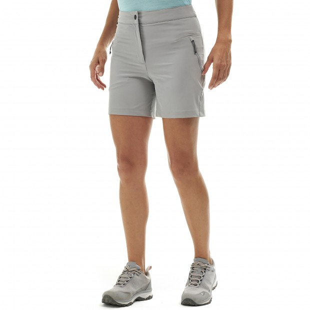 Women hiking Short LD SKIM SHORT Red Lafuma 2