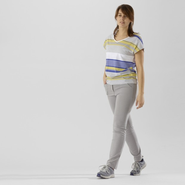 Women urban Tee-Shirt LD NEW TEE Yellow Lafuma 2