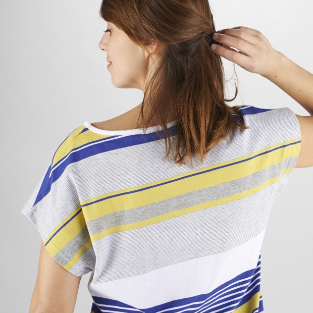Women urban Tee-Shirt LD NEW TEE Yellow Lafuma 4