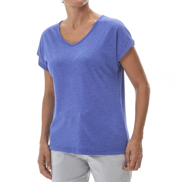 Women urban Tee-Shirt LD NEW TEE Blue Lafuma 2