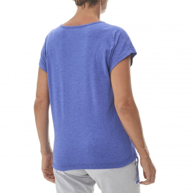 Women urban Tee-Shirt LD NEW TEE Blue Lafuma 3