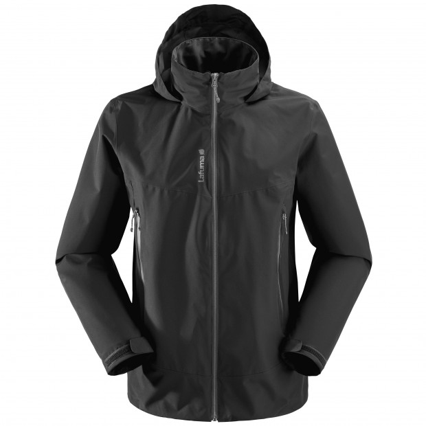 Gore-tex jacket - Men WAY GTX ZIP-IN JKT Black Lafuma