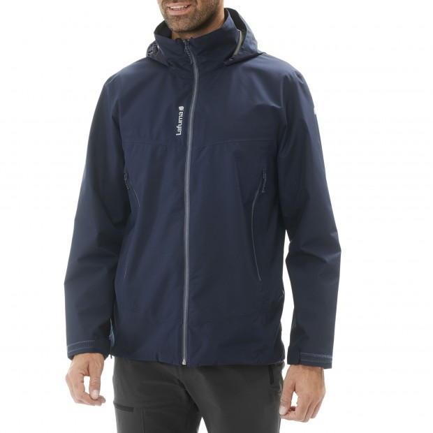 Gore-tex jacket - Men WAY GTX ZIP-IN JKT Black Lafuma 2