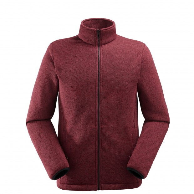 Mix and match jacket - men ACCESS 3in1 FLEECE JKT Red Lafuma 2