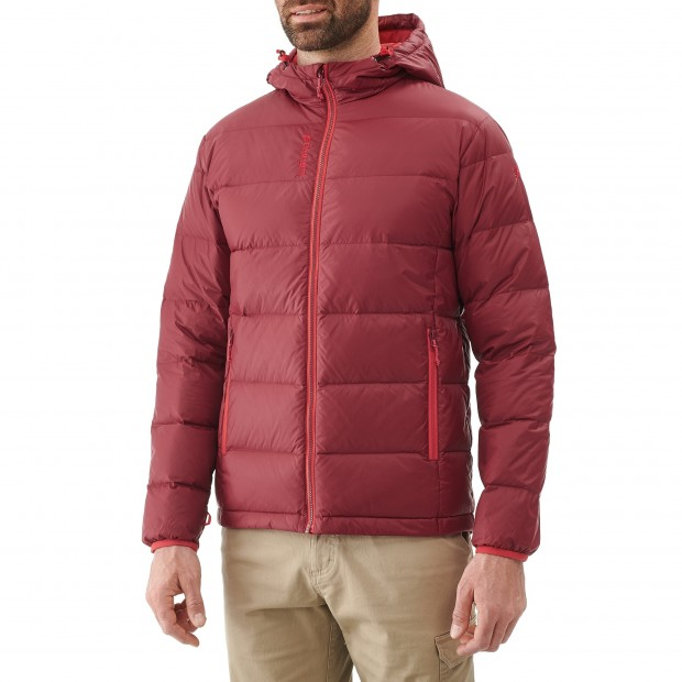 Mix and match down jacket - men TRACK DOWN HOODIE Red Lafuma 2