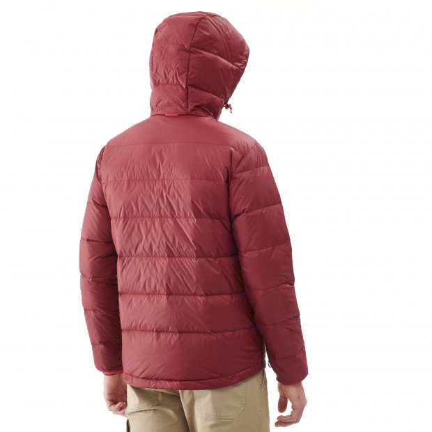 Mix and match down jacket - men TRACK DOWN HOODIE Red Lafuma 3