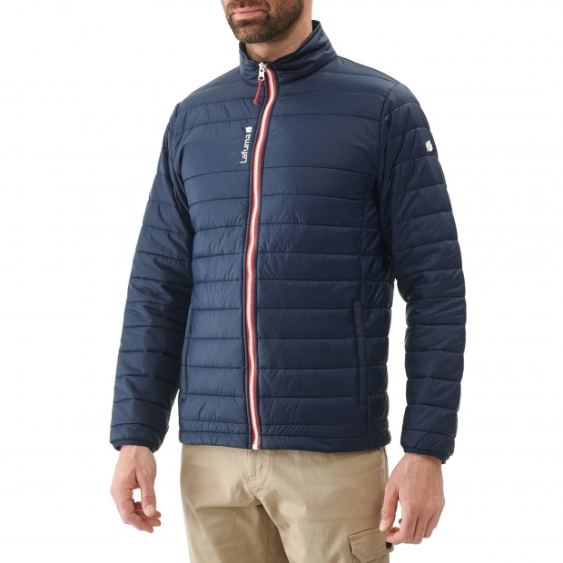 Mix and match down jacket - men ACCESS LOFT F-ZIP M Navy-blue Lafuma 2