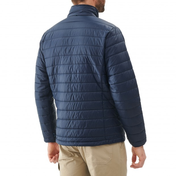 Mix and match down jacket - men ACCESS LOFT F-ZIP M Navy-blue Lafuma 3