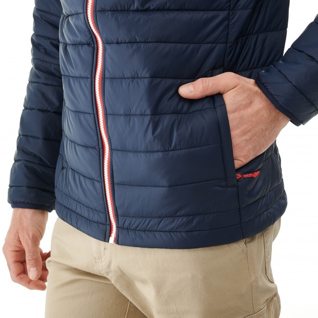 Mix and match down jacket - men ACCESS LOFT F-ZIP M Navy-blue Lafuma 4