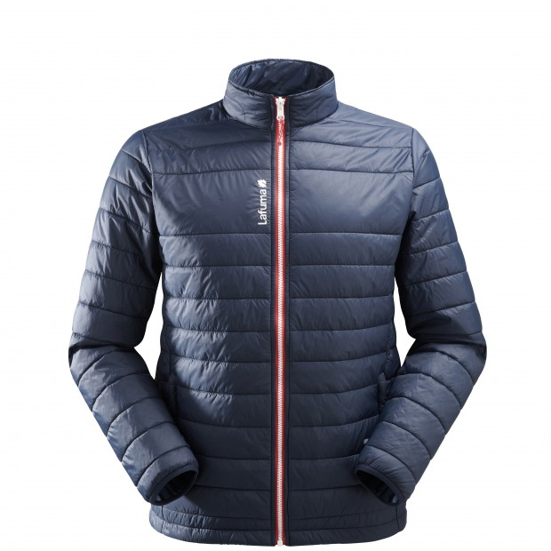 Mix and match down jacket - men ACCESS LOFT F-ZIP M Navy-blue Lafuma