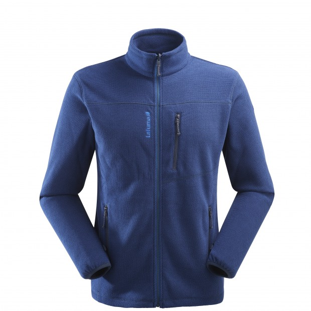 Mix and match fleecejacket - men TECHFLEECE F-ZIP M Blue Lafuma