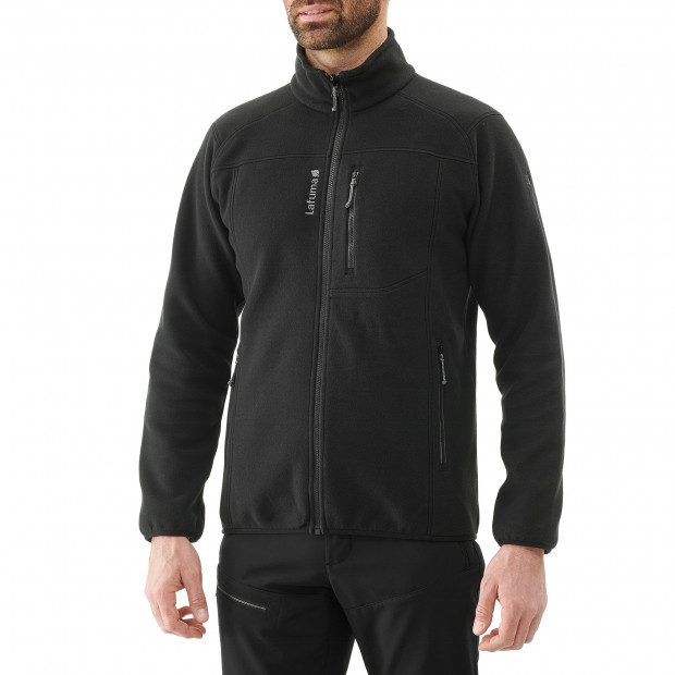 Thick fleecejacket - men ACCESS ZIP-IN M Black Lafuma 2