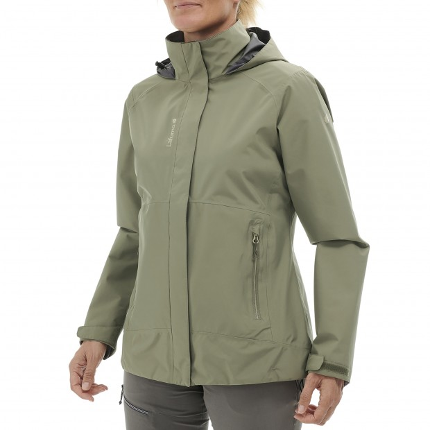 Gore-tex jacket - Women WAY GORE-TEX ZIP-IN JKT W KHAKI Lafuma 2