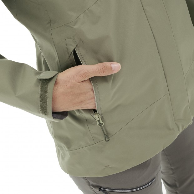 Gore-tex jacket - Women WAY GORE-TEX ZIP-IN JKT W KHAKI Lafuma 5