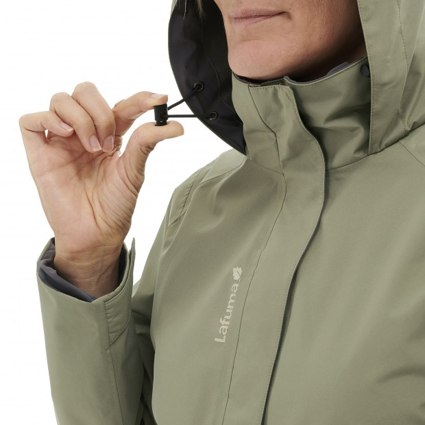 Gore-tex jacket - Women WAY GORE-TEX ZIP-IN JKT W KHAKI Lafuma 6