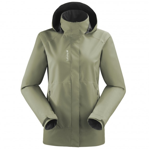 Gore-tex jacket - Women WAY GORE-TEX ZIP-IN JKT W KHAKI Lafuma