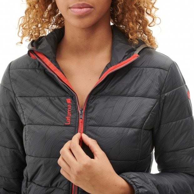 Mix and match down jacket - women LD ACCESS LOFT HOODIE Grey Lafuma 4