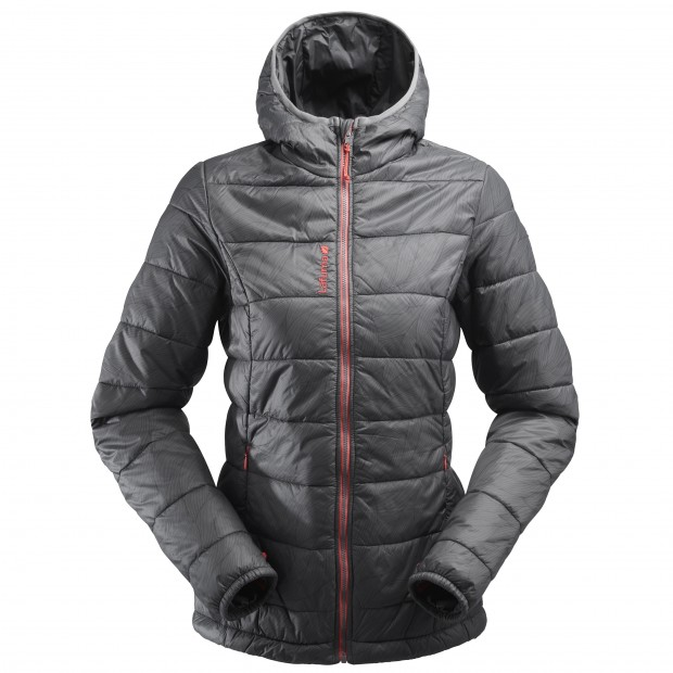 Mix and match down jacket - women LD ACCESS LOFT HOODIE Grey Lafuma