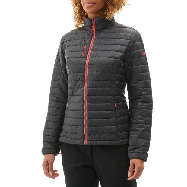 Mix and match down jacket - women LD ACCESS LOFT ZIP-IN Blue Lafuma 2