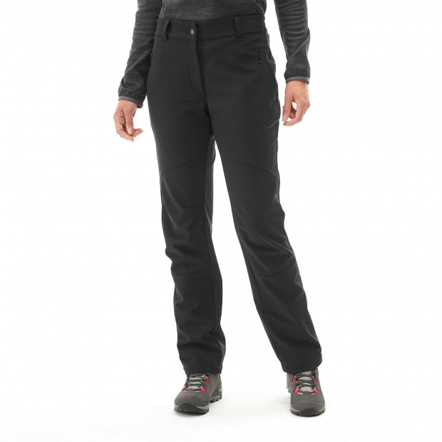 Softshell pant - women TRACK SOFTSHELL PANTS W Grey Lafuma 2