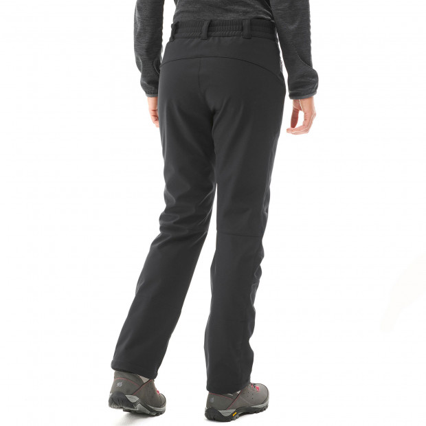 Softshell pant - women TRACK SOFTSHELL PANTS W Grey Lafuma 3