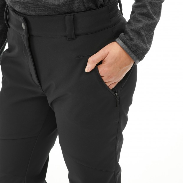 Warm pant - women LD TRACK SOFTSHELL PANTS Black Lafuma 4