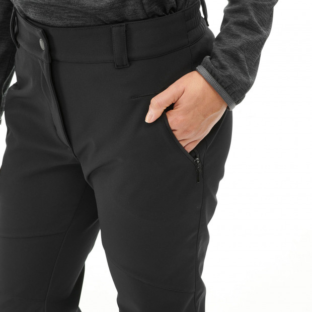 Softshell pant - women TRACK SOFTSHELL PANTS W Grey Lafuma 4