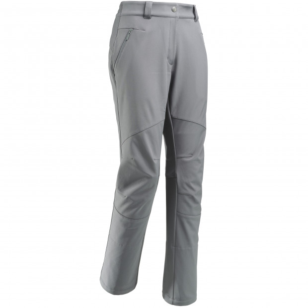 Softshell pant - women TRACK SOFTSHELL PANTS W Grey Lafuma