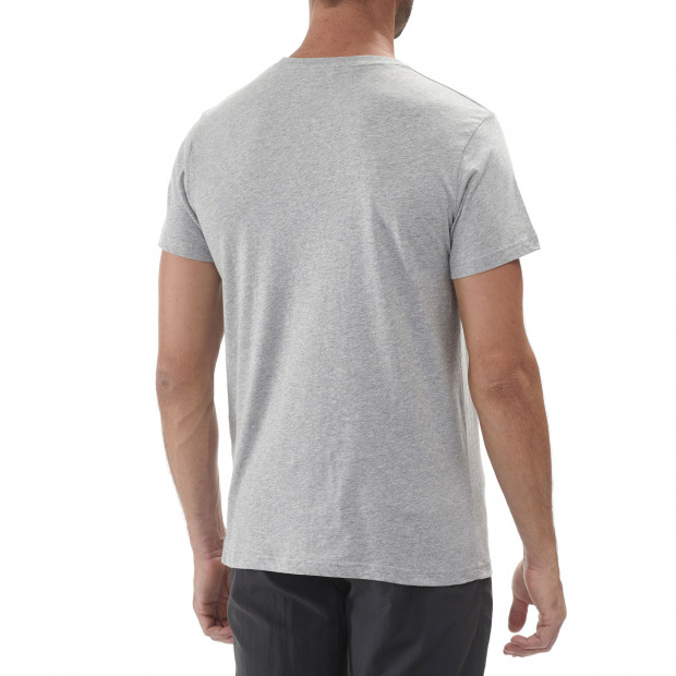 Cotton tee-shirt - men ADVENTURE TEE Kaki Lafuma 3