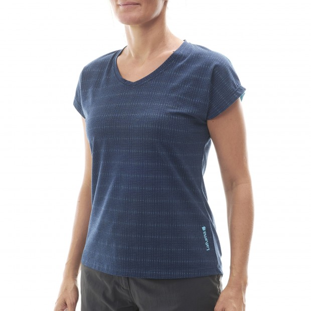 Short sleeves tee-shirt - Women SKIM TEE W Blue Lafuma 2