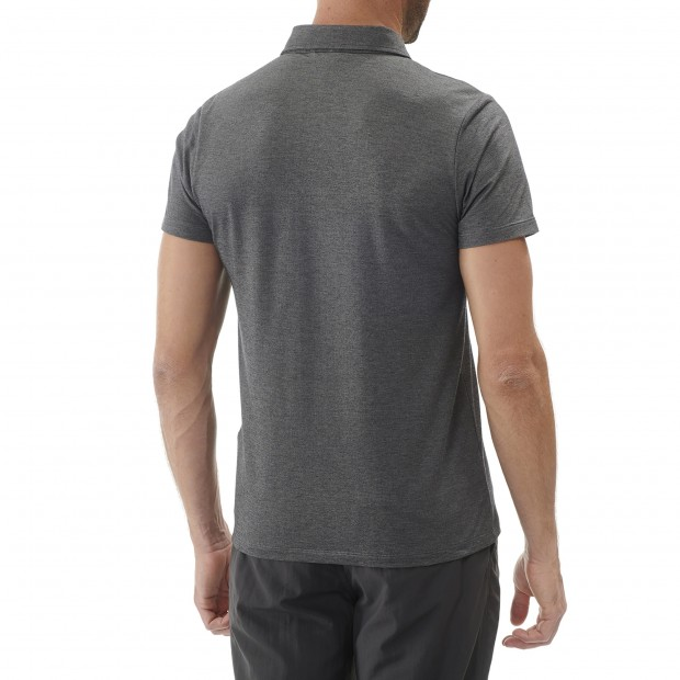 Short sleeves polo shirt - Men RAMBLER POLO M GREY Lafuma 3