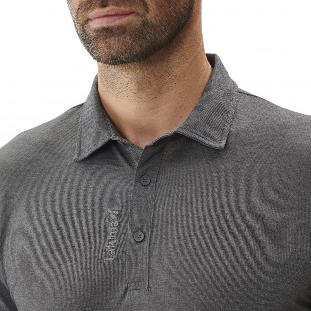 Short sleeves polo shirt - Men RAMBLER POLO M GREY Lafuma 4