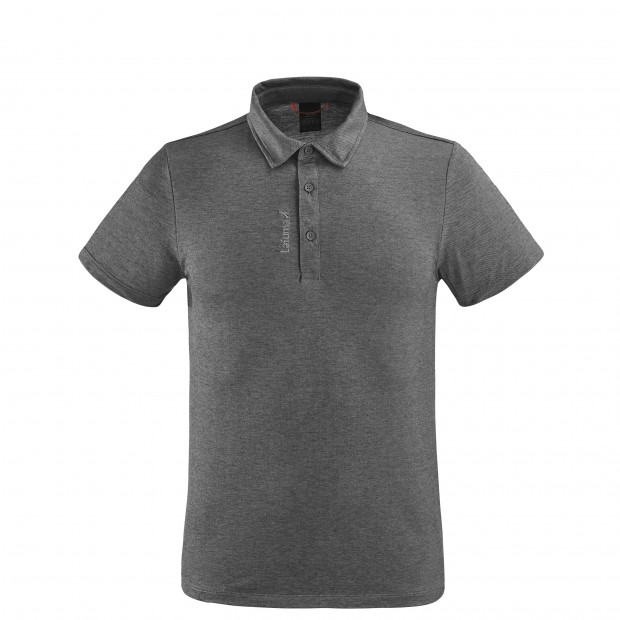 Short sleeves polo shirt - Men RAMBLER POLO M GREY Lafuma