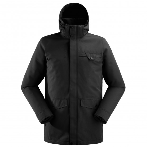 3 in 1 jacket - men MILTON 3in1 LOFT PARKA M Black Lafuma