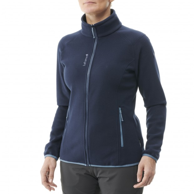 Fleece - Women - BLUE SILKEN F-ZIP W Lafuma 2