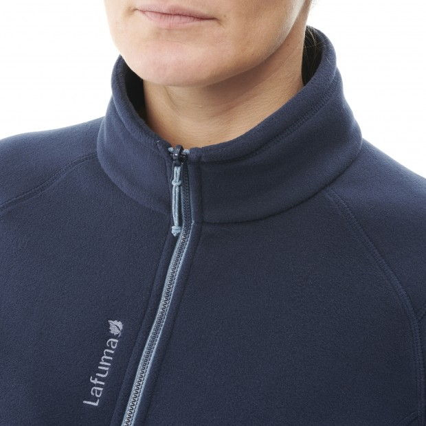Fleece - Women - BLUE SILKEN F-ZIP W Lafuma 5