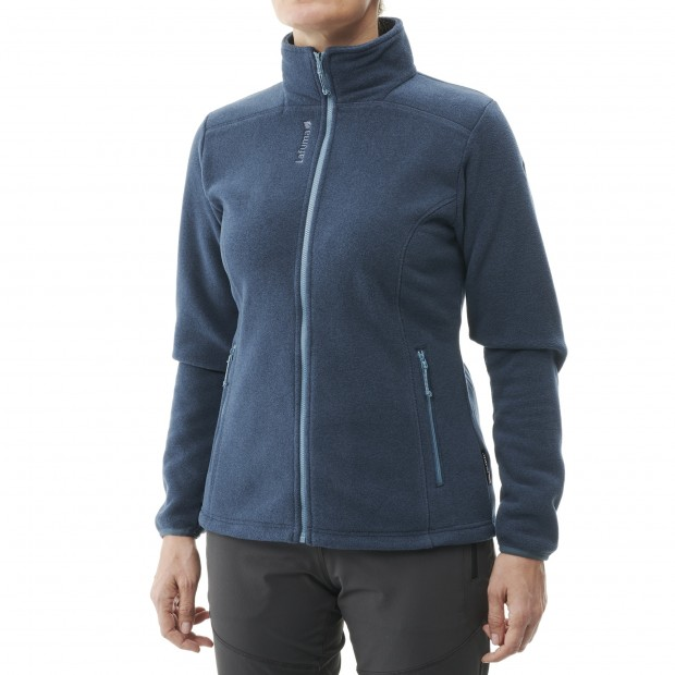Polartec Fleece Jacket - Women - RED VELVET F-ZIP W Lafuma 2